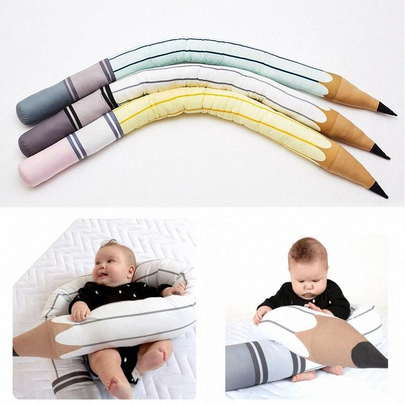Crib Bumper Safety Fence Guard Adjustable Bed Baby Pillows Crashproof Kid Photography Prop Toy Newborn Baby Room Bed Bumper nEQo#