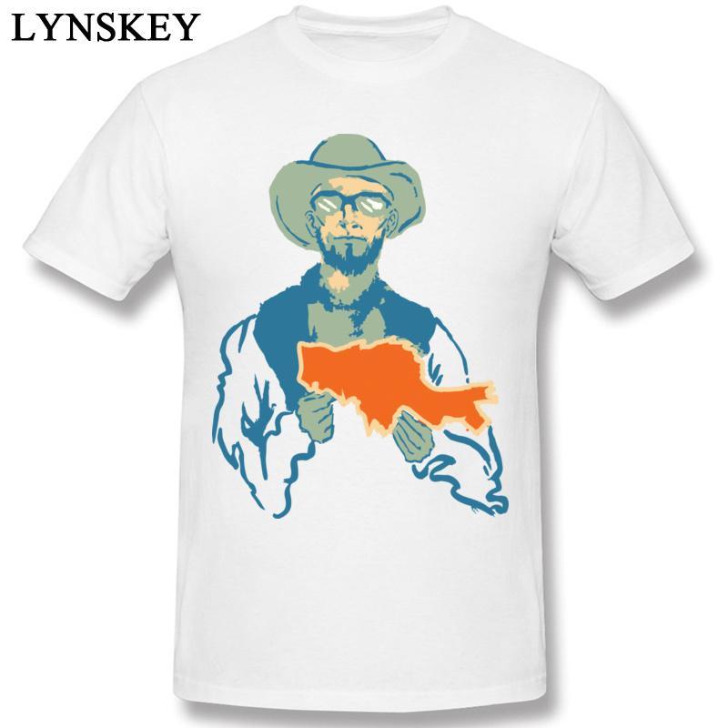 BONS Été / Automne col rond 100% coton Tissu Hauts T-shirt pour les hommes drôle Prix 3D Catch Imprimer Nouveauté Homme Tee-shirts
