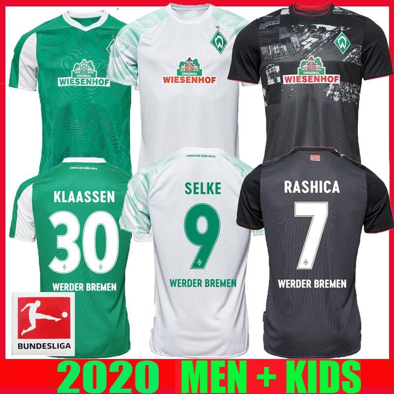 20 21 Werder Bremen en los jerseys del fútbol 2021 2020 hogar lejos tercera KLAASSEN Füllkrug BITTENCOURT RASHICA M.EGGESTEIN hombres hijos camisetas de fútbol