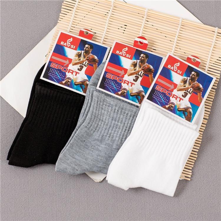Unabhängige Verpackung Herren-Wintergeschenk Herren-Polyester-Baumwolle Mitte und Socken Rohr Sportsocken Socken