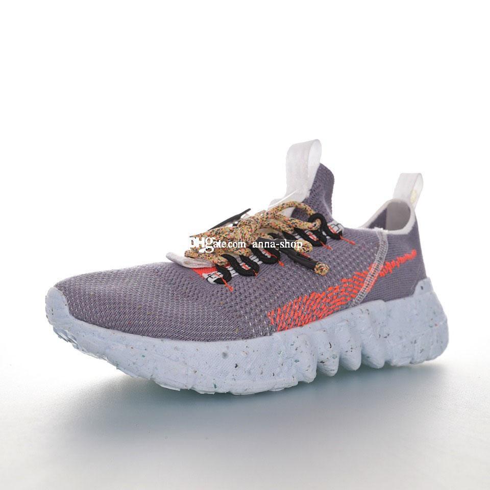 Spazio Hippie 01 Vasto Grey Hyper Sneaker per gli uomini di scarpe da tennis della maglia Mens scarpe da corsa scarpe da donna in maglia di sport delle donne Sport Man Formatori