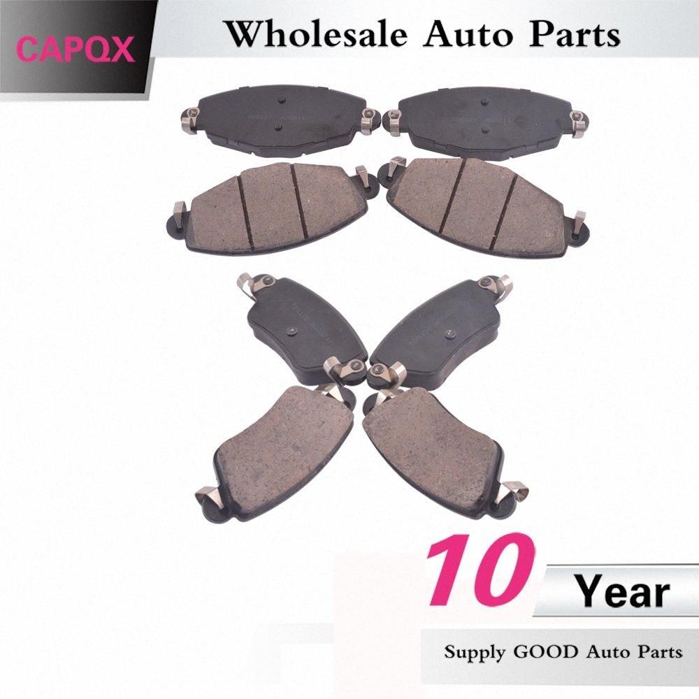 CAPQX Vorne Hinten Bremsbelag Scheibenbremsbelag Kit TD-5127 TD-5128 Für Luxgen SUV 7 wEnv #