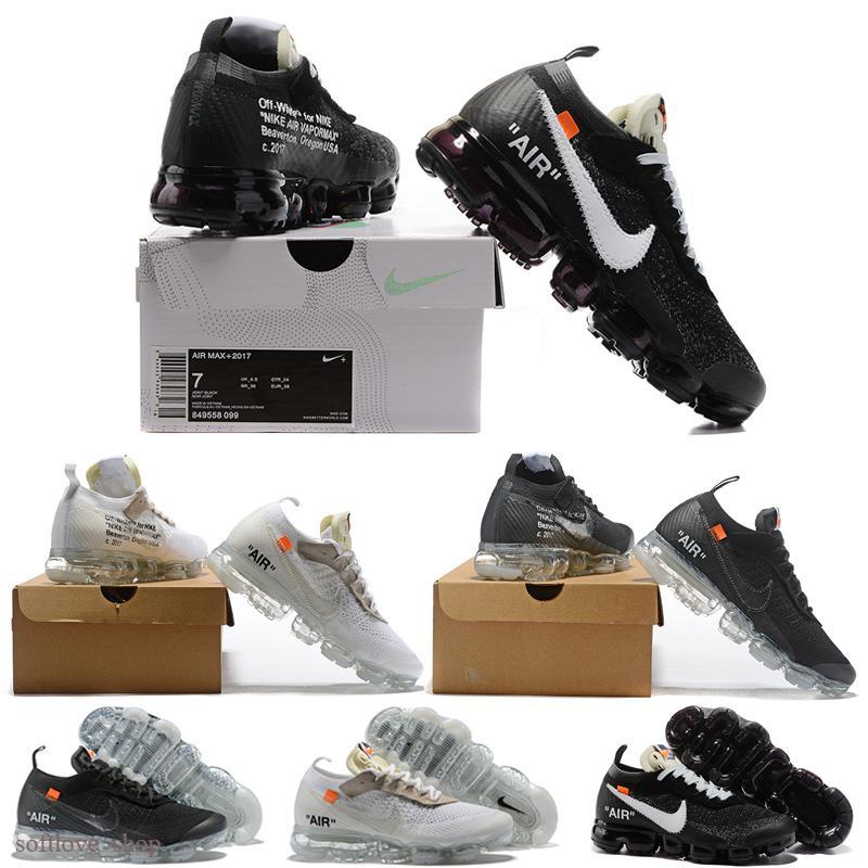 Nike Off-white OW Air Vapormax نمط جديد حار تشغيل الاطفال الرياضة يدير ألبسة للأطفال الاحذية زيبرا بيلوجا أحذية رياضية للأطفال نموذج صحيح Hhyperspace كريم الأبيض 24