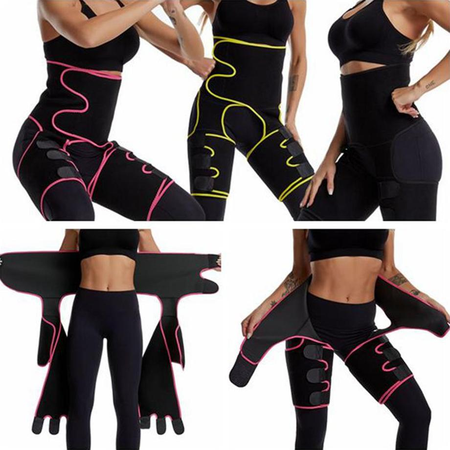 US STOCK, Body Shaper cintura Leg instrutor puérperas Belly Slimming Underwear Modeling Strap Shapewear Tummy aptidão Corset FY8054
