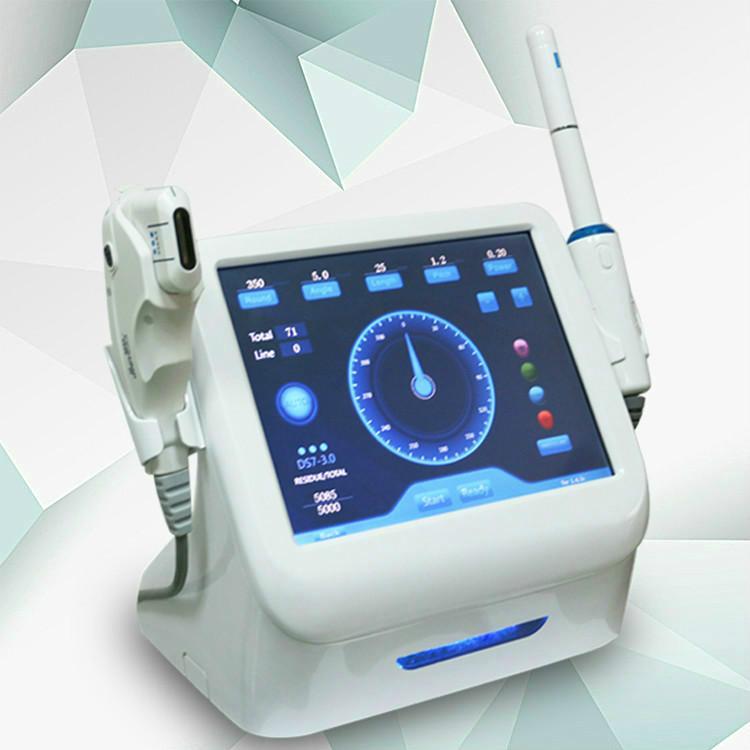 HIFU portatile 2 in 1 serraggio vaginale riduzione delle rughe del viso macchina HIFU SMAS medici sollevamento bellezza attrezzature spa