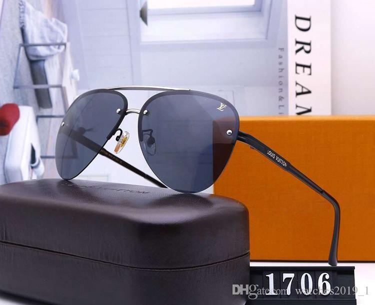 дизайнер Pilot солнцезащитные очки Мужчины Женщины вождения Sunglass поляризованные Mens женщина Мода роскошный солнцезащитные очки Lentes Анти-усталость синий свет