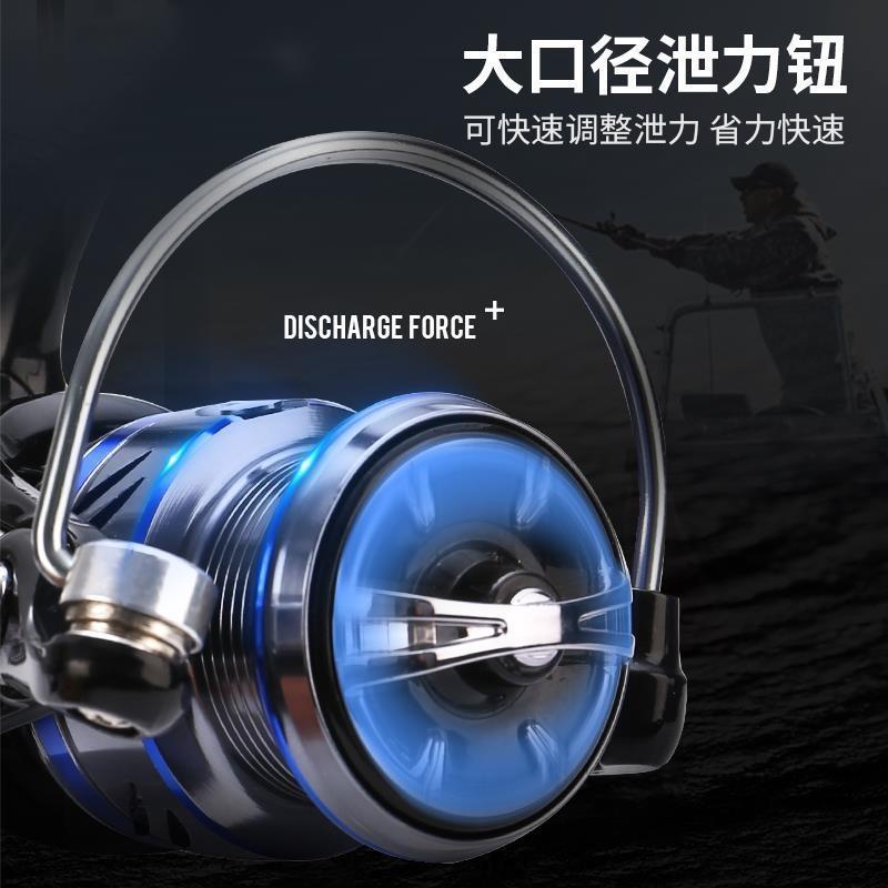 teleskopik çubuk Kaya balıkçılık makara cazibesi Wei wu tekerlek ultra hafif balıkçılık makara için Spinning metal uzun atış açısı cazibesi tekerlek
