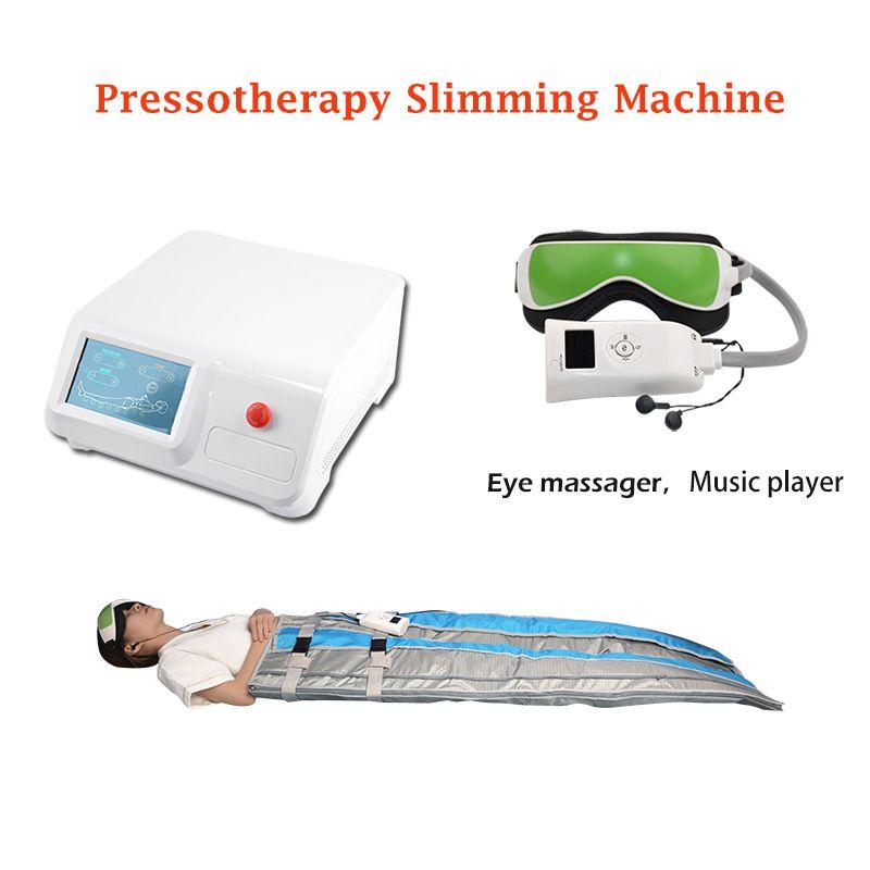 Портативное давление воздуха прессотерапия лимфодренаж лимфодренаж массаж машина лимфатический дренаж похудение костюм оборудование