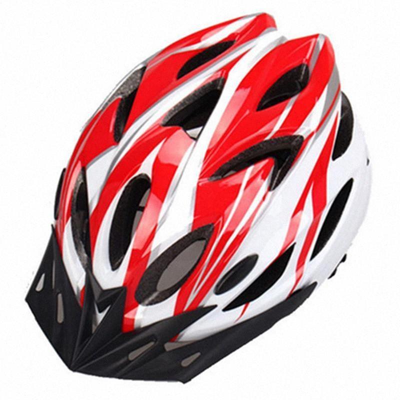 54-62cm Ayarlanabilir Dağ Bisikleti Entegre Güvenlik Kaskları Bisiklet Motorbicycle Ekipmanları Nefes Aksesuar 9jiw #