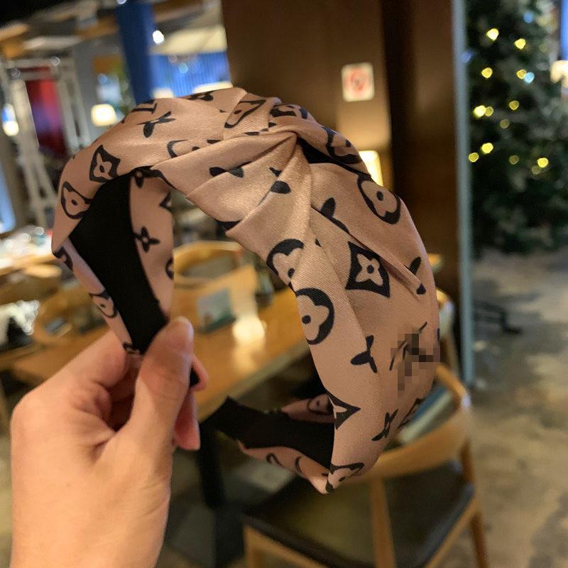 Hediyeler için Kaymaz Şapkalar Düğümlü Kafa Çizgili Saç Hoop Geniş Yan Firkete Spor Kafa 4 Renkler Bantlar Saç Aksesuarları