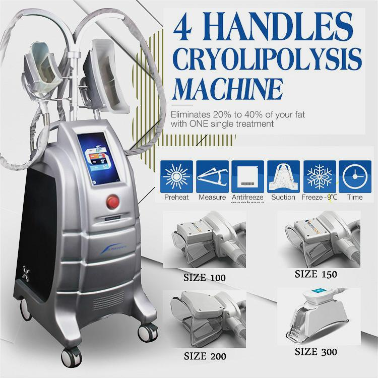 Most Popular Cryolipolysis Machine Skin Lift And Body 4 Cryo Handles Fat Freeze Criolipolisis Maquina Skin Care For Sale