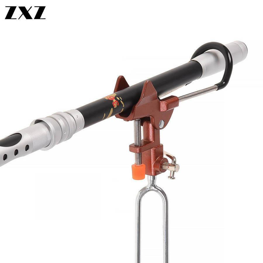 Completa de acero inoxidable ajustable Pesca ángulo automático ejes flexibles Rod poste de los trastos de pesca Soporte Soporte Herramientas del soporte del sostenedor