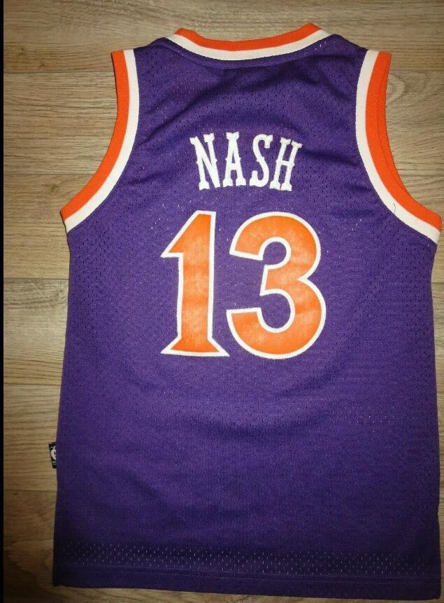 Donna-Uomo della gioventù Steve Nash 1975-76 di pallacanestro Jersey il formato S-3XL o personalizzato qualsiasi nome o numero di maglia