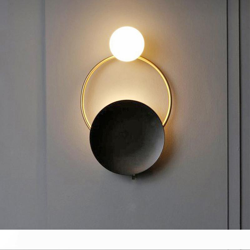 1 pack exterior lamp aplique de interior redondo rectangular blanco negro pintura 10013