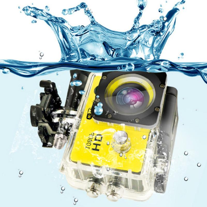 Outdoor Sport Action Mini Camera Waterproof Cam Screen Color Water Resistant Video Surveillance Underwater Camera 5.0