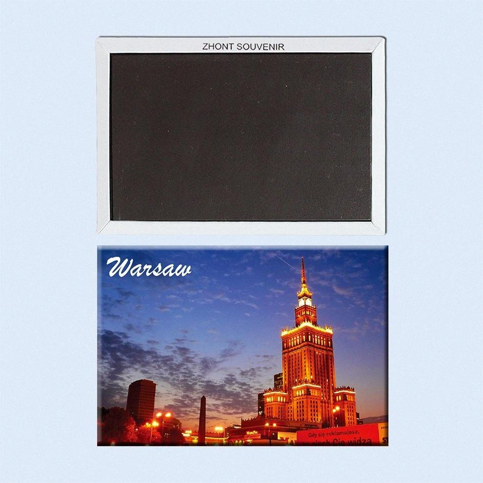 nights in warsaw Poland capital 22619 Landscape Magnetic refrigerator gifts for friends Travel souvenirs nEHS#