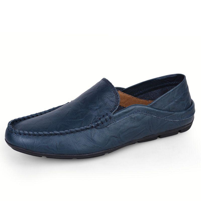 Homens vulcanizados sapatos casuais confortável homem antiderrapante sólido sólido sapatos de alta qualidade homens 2019 mocassins simples apartamentos eihch