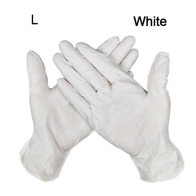 Luvas de entrega impermeáveis rápido nitrílica exame luvas descartáveis Ambidestro para a casa luvas oi YOW5