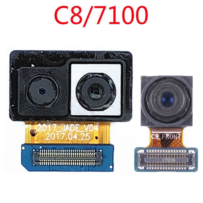 Caméra face pour Samsung Galaxy C8 C7100 Retour arrière caméra principale Module Pièces de rechange