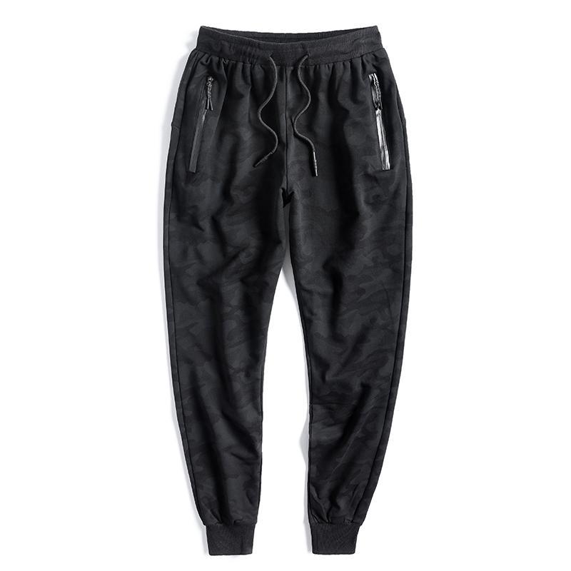 Camouflage Pantaloni felpati Mens Camo coulisse sportivo Pantaloni Pantaloni felpa Uomini Tuta Lunga tuta Jogger pista più Taglia 10XL