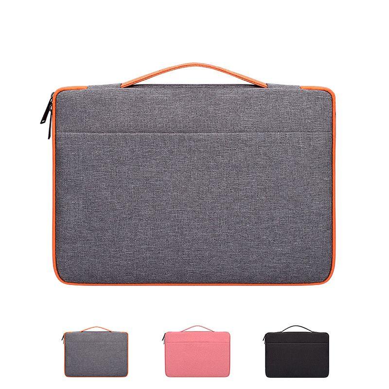 حقائب الكمبيوتر 13.3 14 15.6 بوصة حقيبة كمبيوتر محمول حقيبة حقيبة يد ديل آسوس لينوفو أيسر ماك بوك هواوي أكياس WJJ