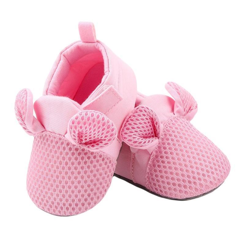 First Walkers Baby Toddler Malla transpirable Chicas lindas Chico Casual Fondo suave Cómodo Cómodo Zapatos antideslizantes