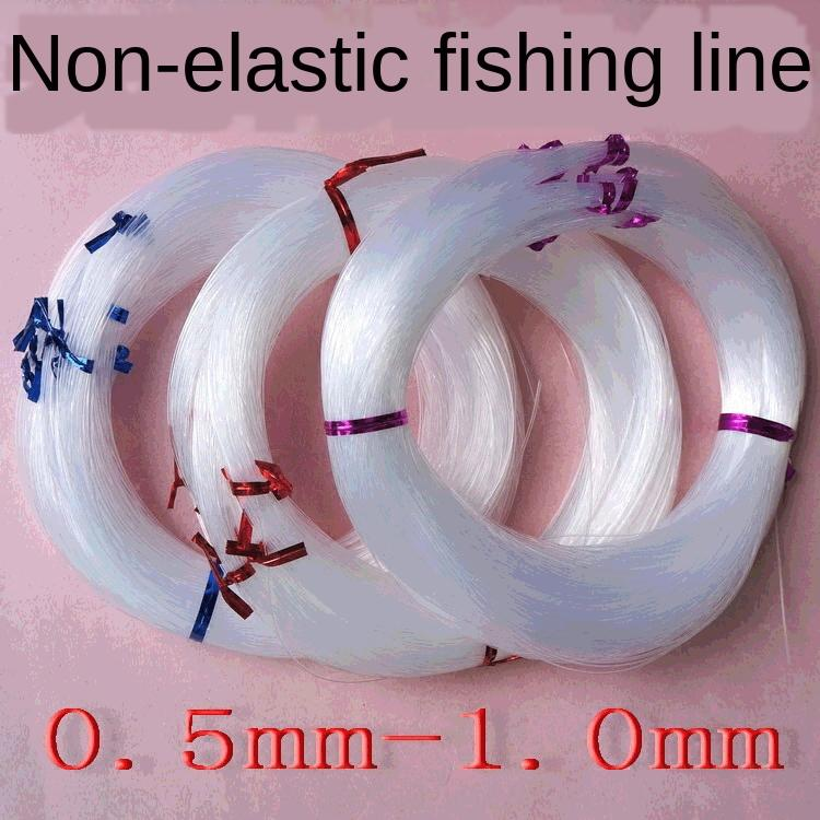 Yapı boncuklar çuval elastik olmayan şeffaf kristal balık hattı DIY kağıt doku kutusu el yapımı kağıt yapımı doku kutusu lU halka