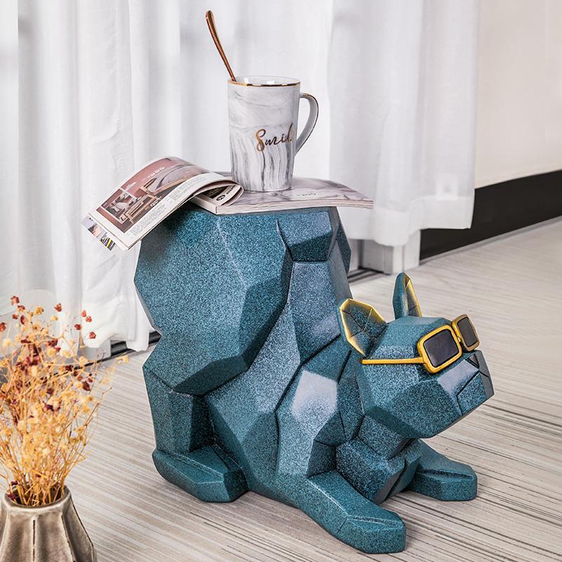 أحذية الإبداعية تغيير أحذية البراز الشمال غرفة المعيشة مجلس الوزراء الطابق الكلب الحلي العملية هووسورمينغ منزل جديد هدايا ديكورات المنزل