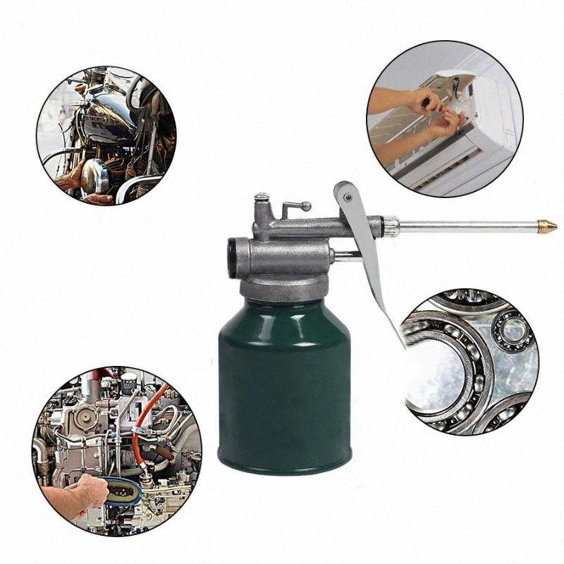 Vernice spray lattine torcia Pompa dell'olio Oiler Tubo grasso per macchine per Strumenti di lubrificazione Airbrush mano Lubrificatore Repair Tool Wlad #