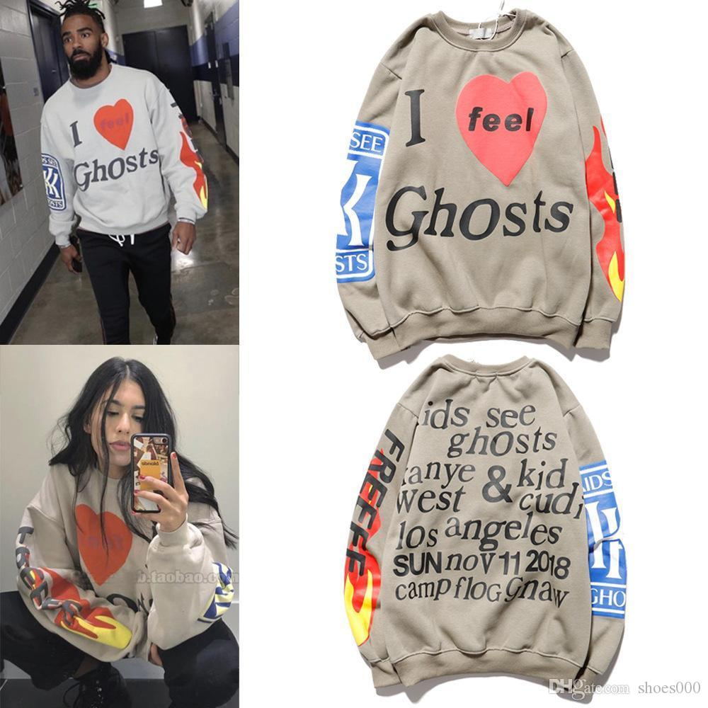 Kanye West Sunday Service Holy Spirit CPFM Sunday tie dyed mens and womens sweater three dimensional printing high quality mens