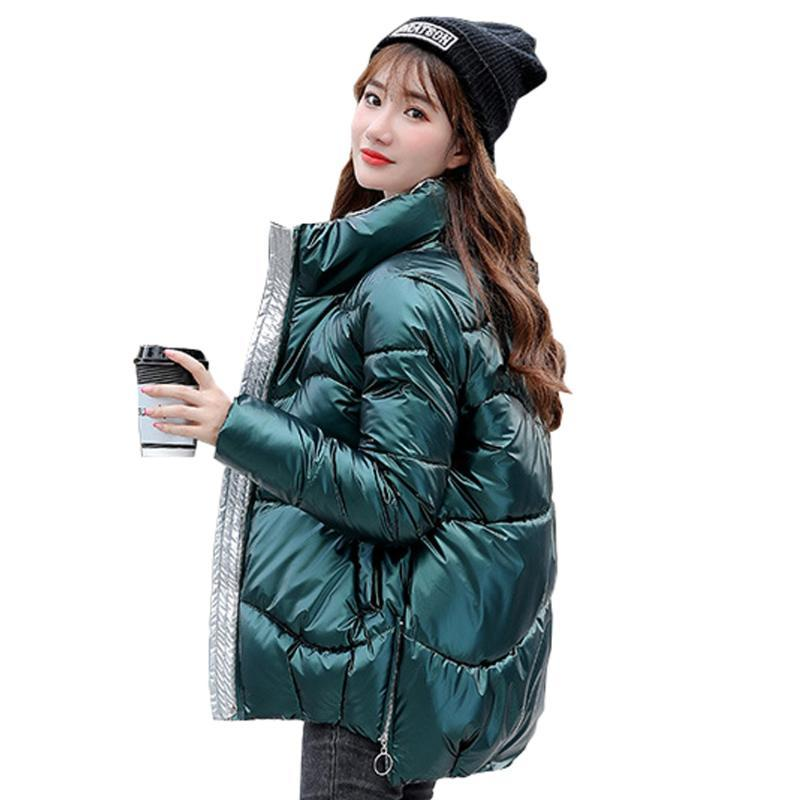 Mode femme veste parka d'hiver femme pain édition han nouveau manteau col de vêtements pour femmes hiver 2020 vers le bas jack