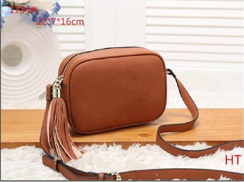 Kahverengi Renk Yeni Stil En Popüler Çanta Kadın Çanta Feminina Küçük Çanta 22 cm