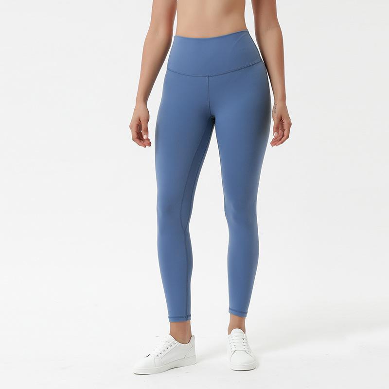 ملابس النساء طماق اليوغاورلد السراويل اللياقة البدنية الفتيات ركض ممارسة تشغيل عالية الخصر الجوارب capris اليوغا الأسود