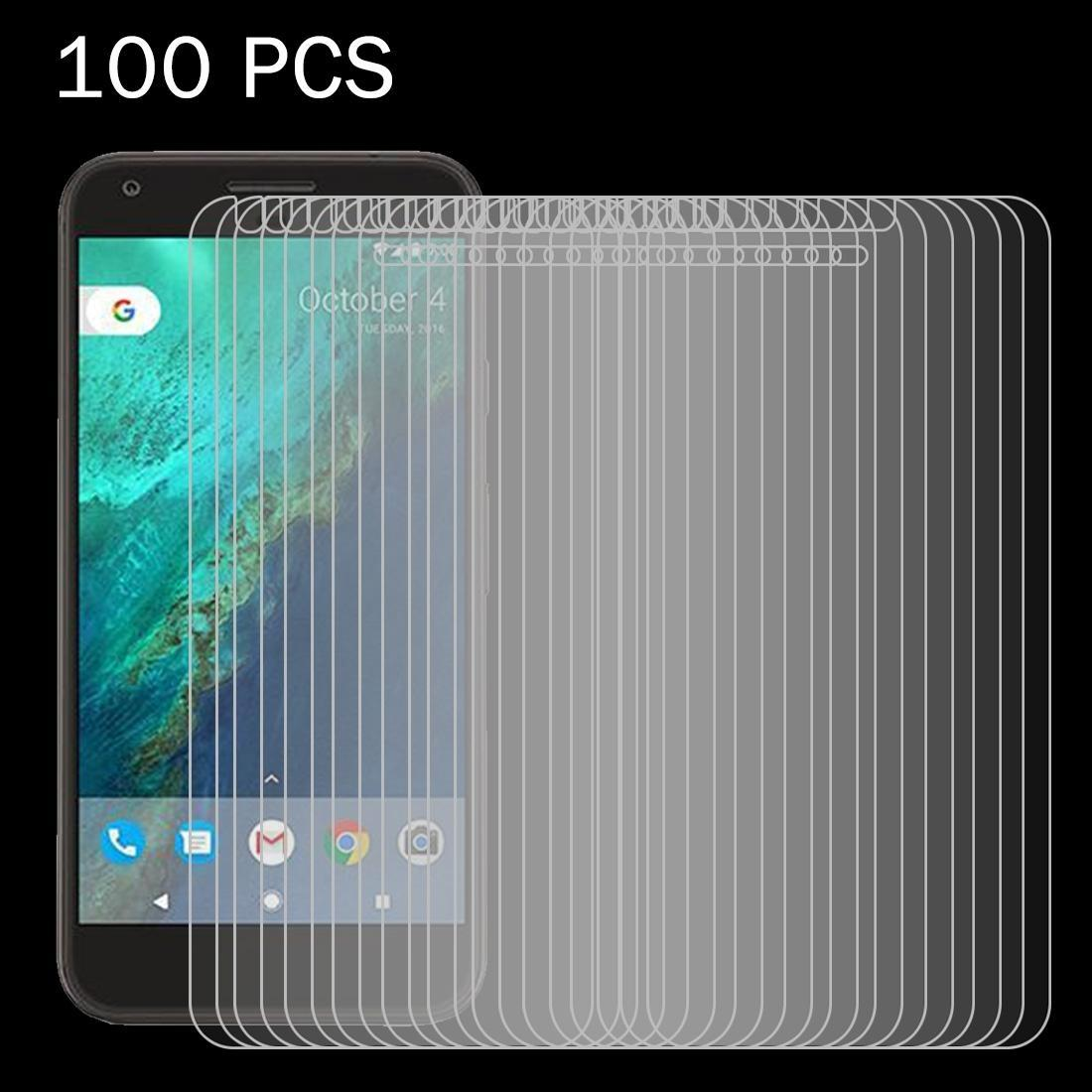 100 PCS for Google Pixel 0.26mm 9H Surface Hardness 2.5D Explosion-proof Tempered Glass Screen Film