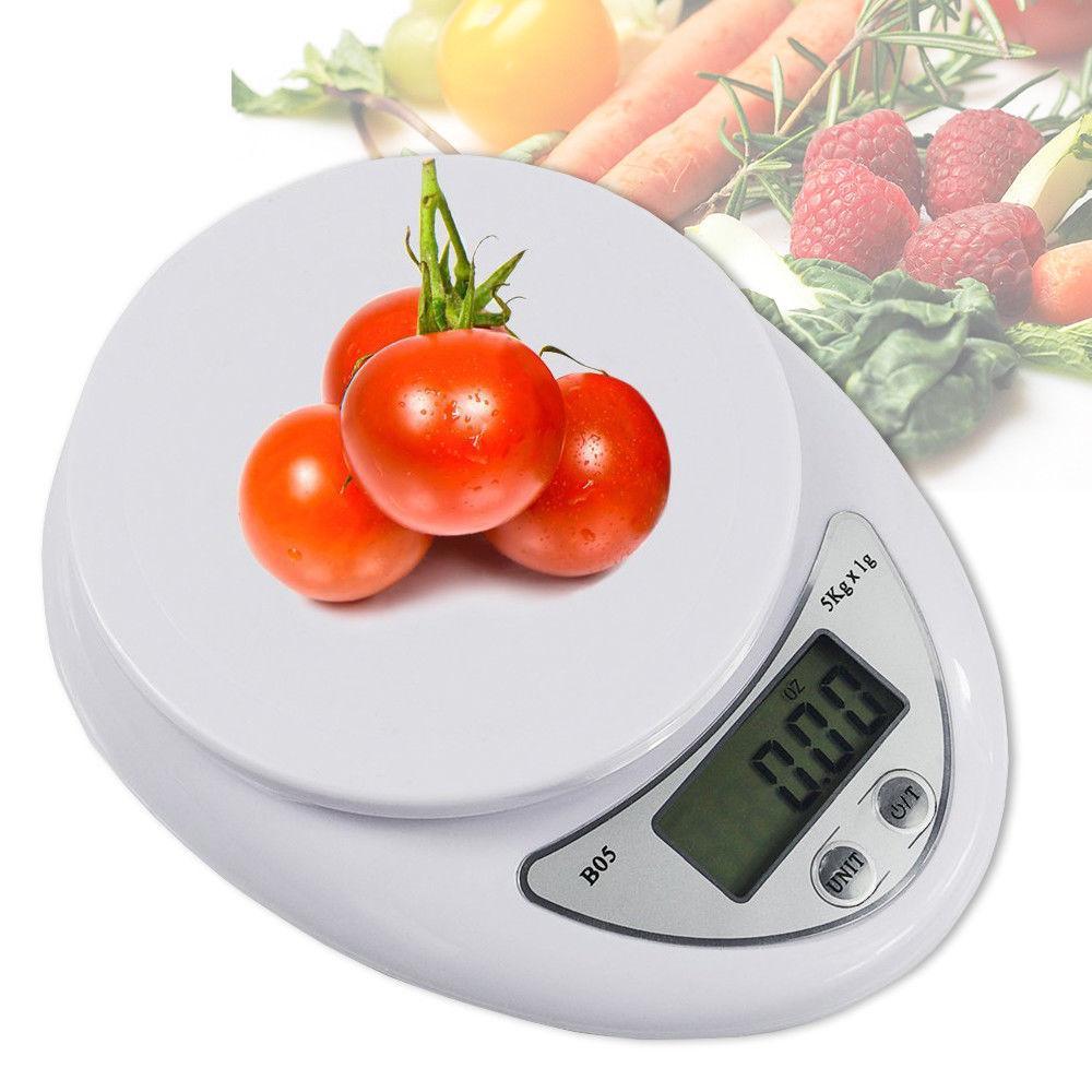 Ölçeği Pişirme Yeni Dijital Mutfak Gıda Sterlini, Grams, ons değerlendirin ve KG