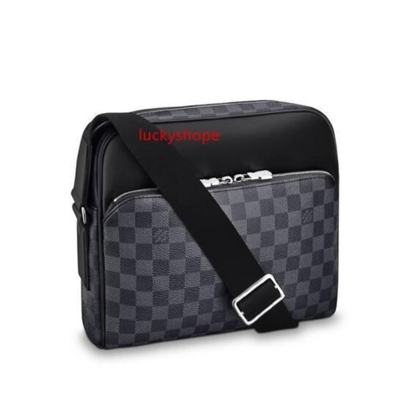 Dayton Reportero Pm N41408 hombres bolsos del mensajero del hombro de la correa del bolso de totalizadores de la cartera carteras del equipaje de la lona