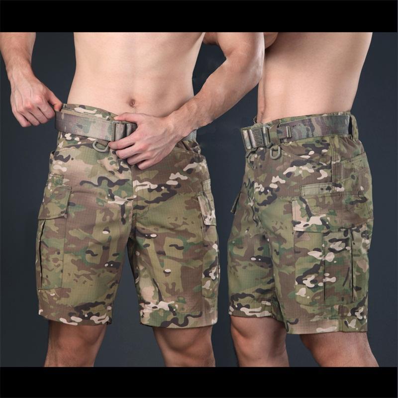 Nuovo Multicam Shorts multicam Tropic lunghezza ginocchio pantaloni di scarsità per Trainning camuffamento Ripstop Pantaloncini Army