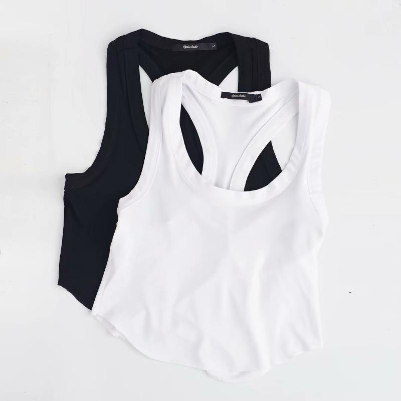 Ankle-Length Tank Women Sexy Comis for Leggings Spandex Solid color Casual Style High Waist Type Fashion Tank Top