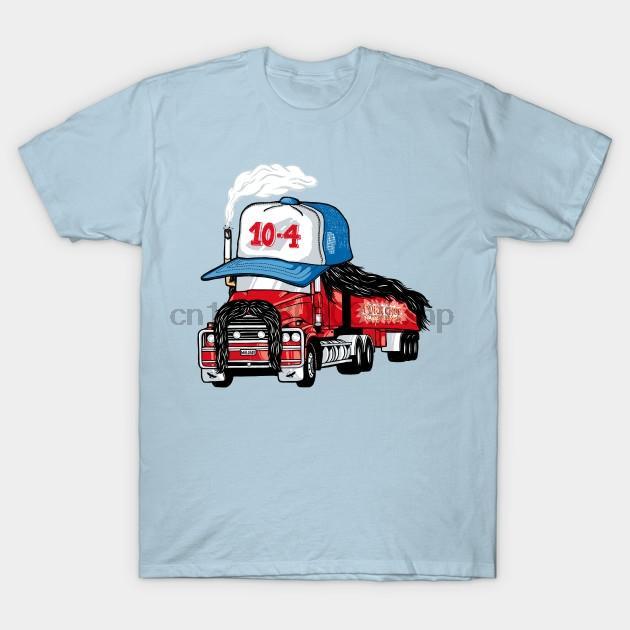 Мужчины тенниска Trucker Hat Смешные T Рубашка женская футболка тройники сверху