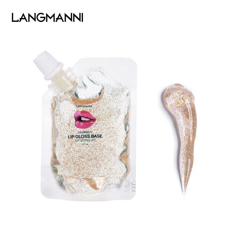 Nuovo 20ml di prodotto fai da te lip gloss lucido gel fondazione lucidalabbra mano cosmetico rossetto liquido olio antiaderente idratante Dropship rossetto