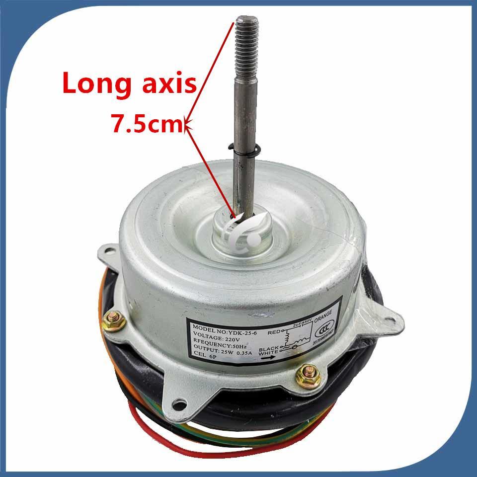 Klima Fan motoru YDK-25-6 Ters yönde motora 25W iyi çalışma için çalışan yeni iyi