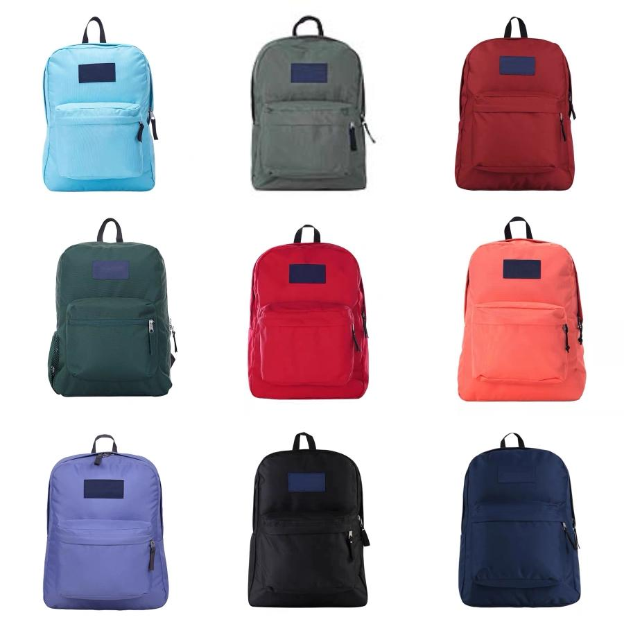 50Pcs bambini stampa animale sveglio impermeabile sacchetto di scuola per ragazze adolescenti 3Colors # 5521
