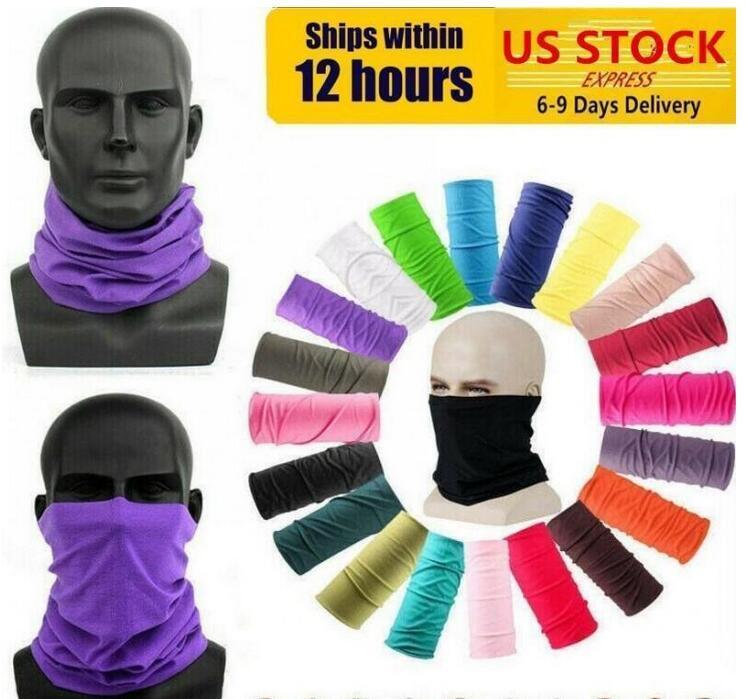 DHL SHIP Radfahren Unisex Magie-Kopf-Gesichts-Schutzmaske-Ansatz Gamasche Biker Schlauch Bandana Schal Armband Beanie Cap Outdoor Sports
