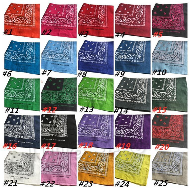Pañuelos Impresión doble Hip Hop Pañuelos Pañuelos Pañuelo mágicos del cabezal de impresión multifuncional bufanda del abrigo pañuelo toalla de cara DHA589