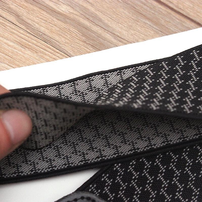 h9Zak Herrenhosen elastische Klammer Schlinge Männer verdickte weiteten verdickte Bänder elastische Bänder Clip Anzug Anzughose Strapse Sling breite si5mM
