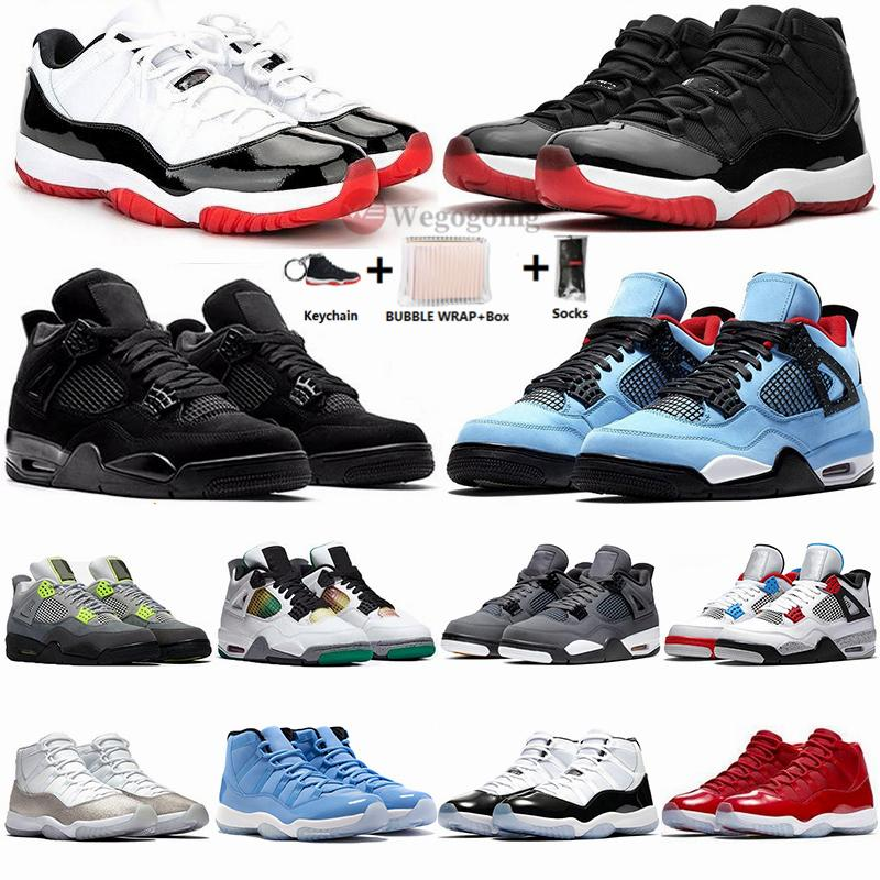 Nike Air Jordan Retro 11 Con la scatola 11s Jumpman pantone Concord 45 Low Bred 11 scarpe da basket Heiress Vasto Grey Win Come Mens Traienrs Donne Designer Sport Sneakers