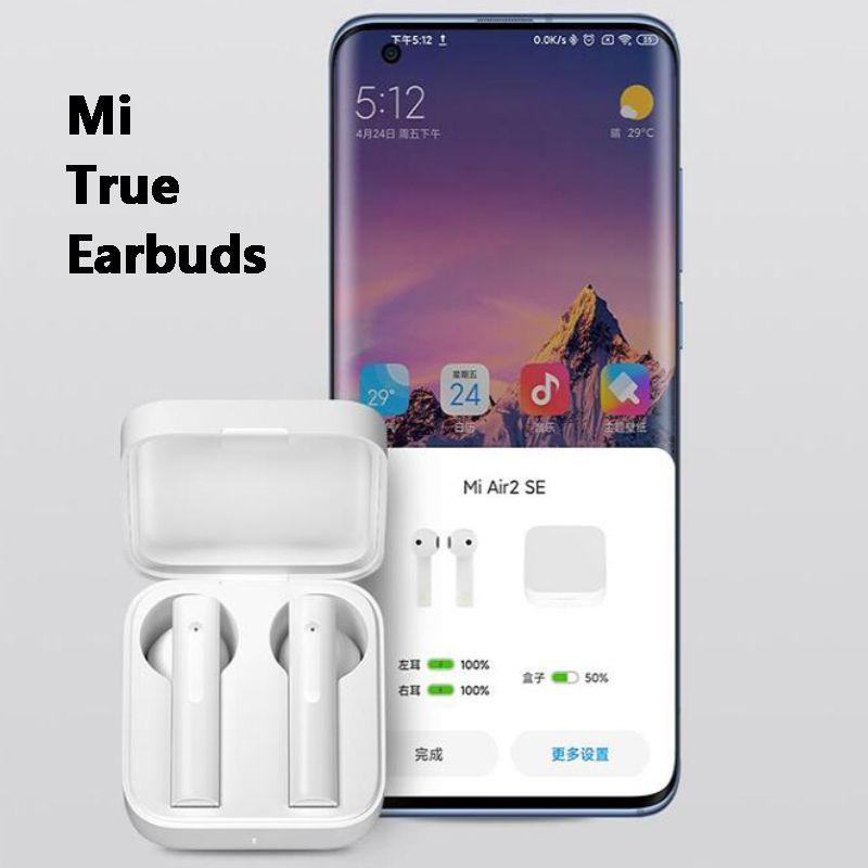 Xiaomi Airdots 3 Air 2SE Air-2 MI Vero auricolari wireless TWS Auricolare Auricolare Annullamento del rumore LHDC Tap Control Dual MIC