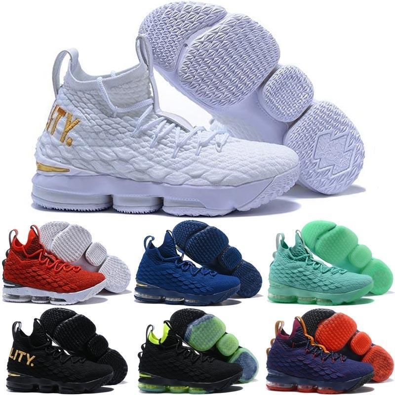 Zapatos caliente 15s baloncesto zapatillas blancas XV 15 MVP Igualdad BHM pintada de madera dura Armor Suit con sabor a fruta de zapatos Ksa Lmtd Kith Cenizas Deportes