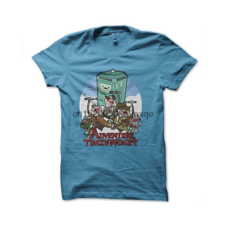Men T Shirt Dr. who adventure time t-shirt tshirts Women T-Shirt