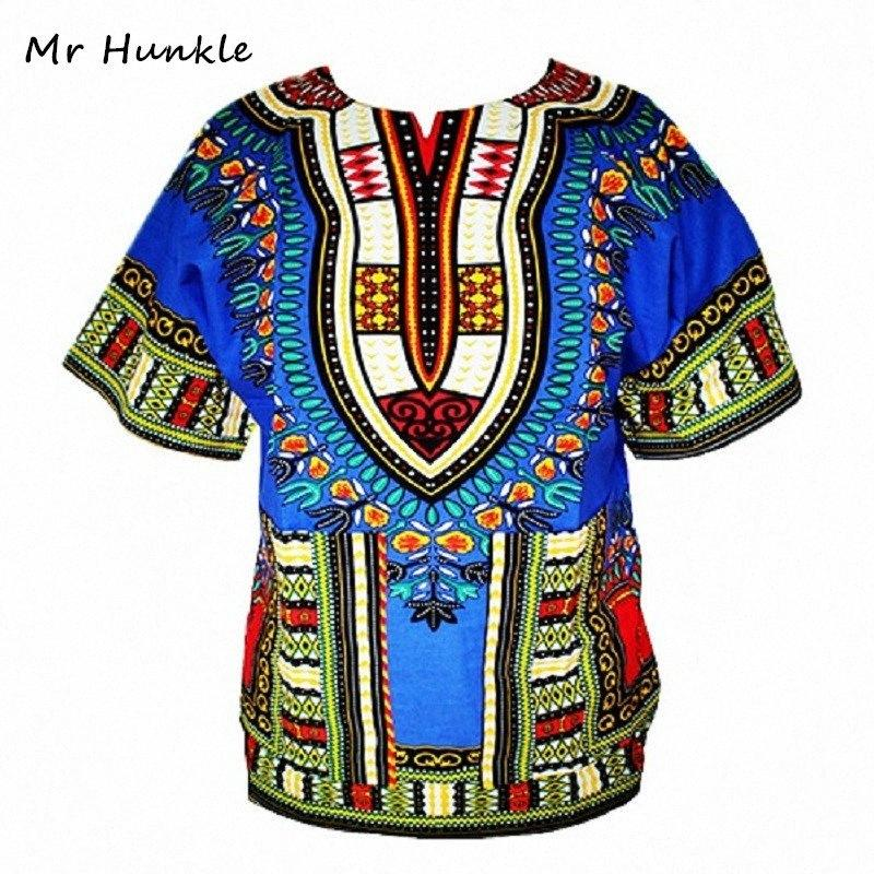 Dashiki New Africano Roupa Tradicional Imprimir Tops Moda projeto Bazin Riche roupas Africano Dashiki T-shirt para as Mulheres Homens MCCV #